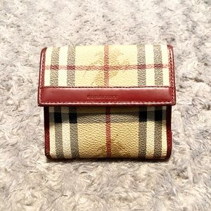 Vintage Burberry wallet paid $480 Authentic